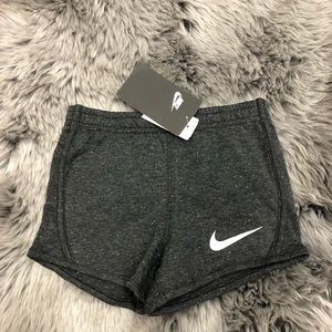 Nike | Girl's Shorts | Grey | Multi-Colour Speckle